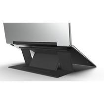 Macbook / Laptop Standaard - Zelfklevend opvouwbare laptop standaard - Zwart