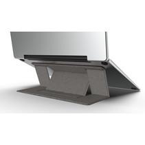 Macbook / Laptop Standaard - Zelfklevend opvouwbare laptop standaard - Grijs