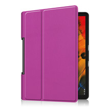 Lenovo Yoga Smart Tab 10.1 hoes - Tri-Fold Book Case - Paars
