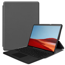 Microsoft Surface Pro X hoes - Tri-Fold Book Case - Grijs