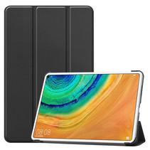 Huawei MatePad Pro 10.8 hoes - Tri-Fold Book Case - Zwart