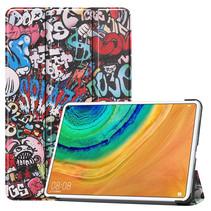 Huawei MatePad Pro 10.8 hoes - Tri-Fold Book Case - Graffiti