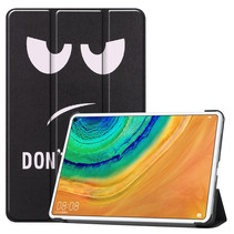 Huawei MatePad Pro 10.8 hoes - Tri-Fold Book Case - Don't Touch Me