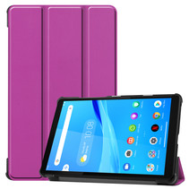 Lenovo Tab M8 hoes - Tri-Fold Book Case - Paars