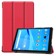 Lenovo Tab M8 HD hoes - Tri-Fold Book Case - Rood