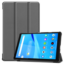 Lenovo Tab M8 hoes - Tri-Fold Book Case - Grijs