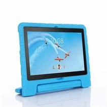 Lenovo Tab M10 hoes - Schokbestendige case met handvat - Licht Blauw