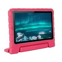 Huawei MediaPad M6 8.4 hoes - Schokbestendige case met handvat - Magenta