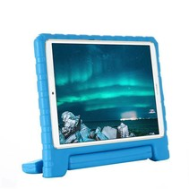 Huawei MediaPad M6 10.8 hoes - Schokbestendige case met handvat - Licht Blauw