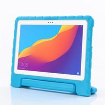Huawei MediaPad T5 10 hoes - Schokbestendige case met handvat - Licht Blauw