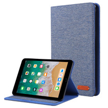 iPad Mini 4/5 (2019) hoes - Book Case met Soft TPU houder - Blauw