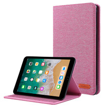iPad Mini 4/5 (2019) hoes - Book Case met Soft TPU houder - Roze