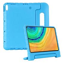 Huawei MatePad Pro 10.8 hoes - Schokbestendige case met handvat - Blauw
