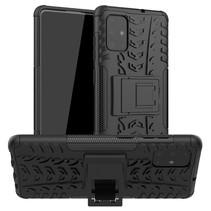 Samsung Galaxy A51 hoes - Schokbestendige Back Cover - Zwart