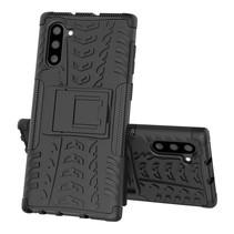 Samsung Galaxy Note 10 hoes - Schokbestendige Back Cover - Zwart