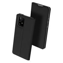 Samsung Galaxy S10 Lite hoesje - Dux Ducis Skin Pro Book Case - Zwart