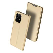 Samsung Galaxy S10 Lite hoesje - Dux Ducis Skin Pro Book Case - Goud