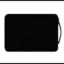 WIWU - Laptop sleeve 13 inch - Pocket Laptop & MacBook Sleeve - Zwart