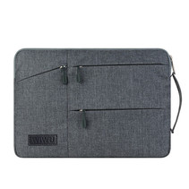 WIWU - Laptop sleeve 13 inch - Pocket Laptop & MacBook Sleeve - Grijs