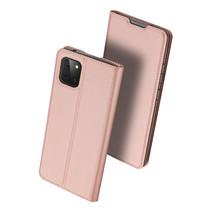 Samsung Galaxy Note 10 Lite hoesje - Dux Ducis Skin Pro Book Case - Rosé Goud