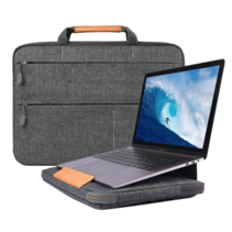 WIWU - Laptop sleeve 14 inch - Smart Stand Laptoptas - Grijs