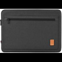 HP Elitebook laptop sleeve - Waterafstotend Polyester hoes met extra opbergvak - 13.3 inch - Zwart
