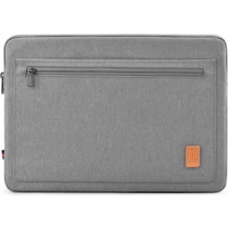 Acer Spin laptop sleeve - Waterafstotend Polyester hoes met extra opbergvak - 14 inch - Grijs