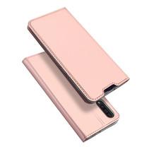 Samsung Galaxy A30s hoesje - Dux Ducis Skin Pro Book Case - Rosé Goud