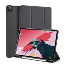 iPad Pro 12.9 (2020) hoes - Dux Ducis Domo Book Case - Zwart
