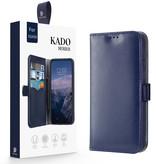 Dux Ducis Samsung Galaxy A30s hoesje - Dux Ducis Kado Wallet Case - Blauw