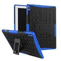 Lenovo Tab E10 hoes - Schokbestendige Back Cover - Blauw