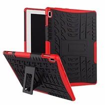 Lenovo Tab E10 hoes - Schokbestendige Back Cover - Rood
