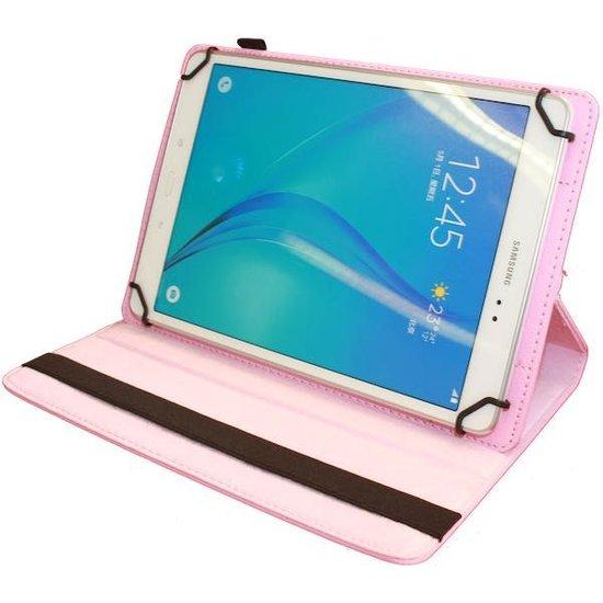 Case2go  Lenovo Tab M10 Plus hoes - Draaibare Book Case - Roze