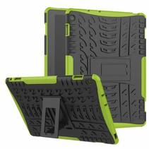 Huawei Matepad Pro 10.8 inch hoes - Schokbestendige Back Cover - Groen