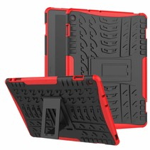 Huawei Matepad Pro 10.8 inch hoes - Schokbestendige Back Cover - Rood