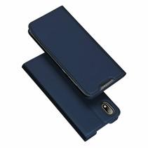 Honor 8S hoesje - Dux Ducis Skin Pro Book Case - Blauw