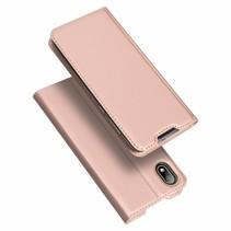 Honor 8S hoesje - Dux Ducis Skin Pro Book Case - Rosé Goud