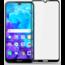 Case2go Honor 8s - Full Cover Screenprotector - Gehard Glas - Zwart