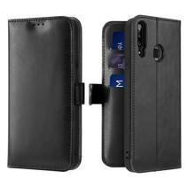 Samsung Galaxy A20s telefoonhoesje - Dux Ducis Kado Wallet Case - Zwart