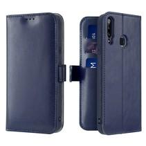 Samsung Galaxy A20s telefoonhoesje - Dux Ducis Kado Wallet Case - Blauw
