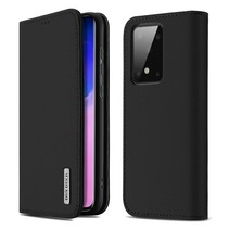 Samsung Galaxy S20 hoesje - Dux Ducis Wish Wallet Book Case - Zwart