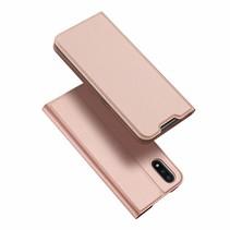 Samsung Galaxy A01 hoesje - Dux Ducis Skin Pro Book Case - Rosé Goud