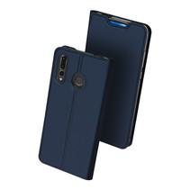 Huawei P Smart Pro 2019 hoesje - Dux Ducis Skin Pro Book Case - Blauw