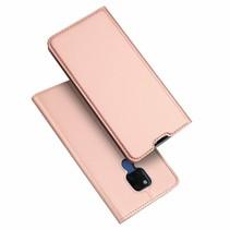 Huawei Mate 20x hoesje - Dux Ducis Skin Pro Book Case - Roze