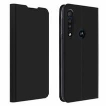 Motorola One Macro hoesje - Dux Ducis Skin Pro Book Case - Zwart