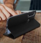 Dux Ducis Motorola One Macro hoesje - Dux Ducis Skin Pro Book Case - Zwart
