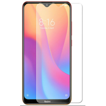 Xiaomi Redmi 8a screenprotector - Tempered Glass Screenprotector - Case-Friendly