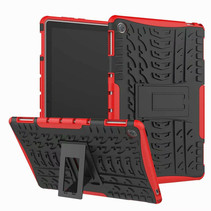 Huawei MediaPad M5 8.4 inch hoes - Schokbestendige Back Cover - Rood