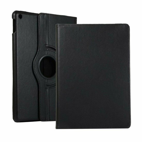 iPad 10.2 (2019) Hoes - Draaibare Book Case Cover - Zwart
