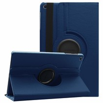 Samsung Galaxy Tab A 10.1 (2019) hoes - Draaibare Book Case  - Donker Blauw